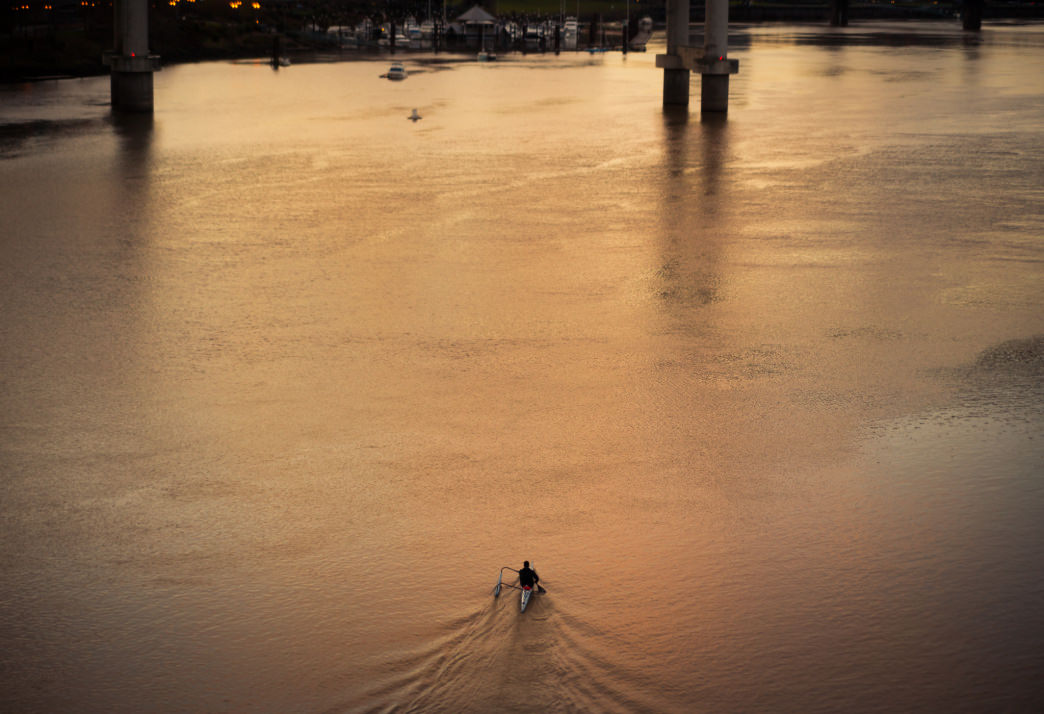 Portland's Willamette River offers ample in-town paddling adventures.