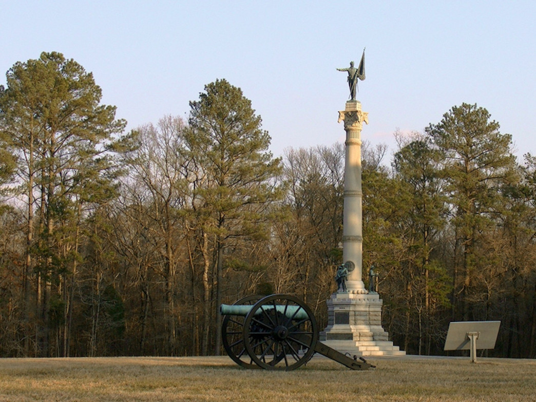 The Chickamauga Battlefield was the site of one of the bloodiest battles in the Civil War.