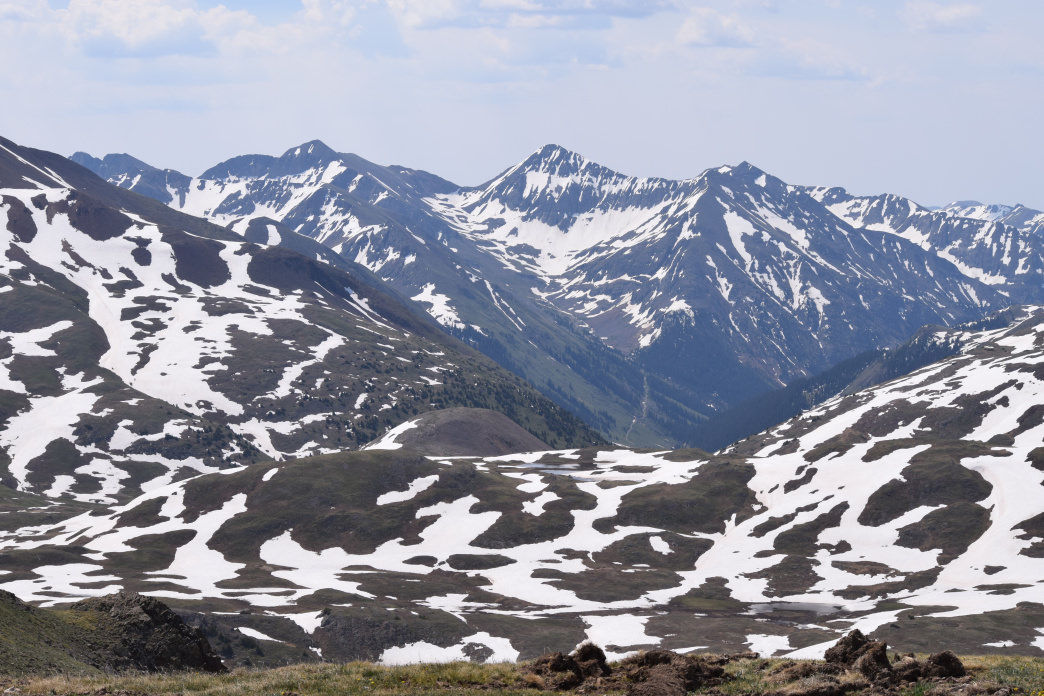 The view from the top of Engineer Pass on the Alpine Loop.      Abbie Mood