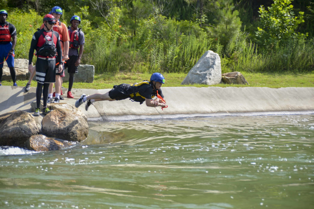 Indiana National Guard trains for disaster response ...  |National Guard Water Rescue