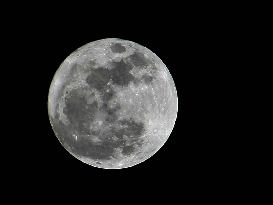 The moon can make for some stunning images, too.