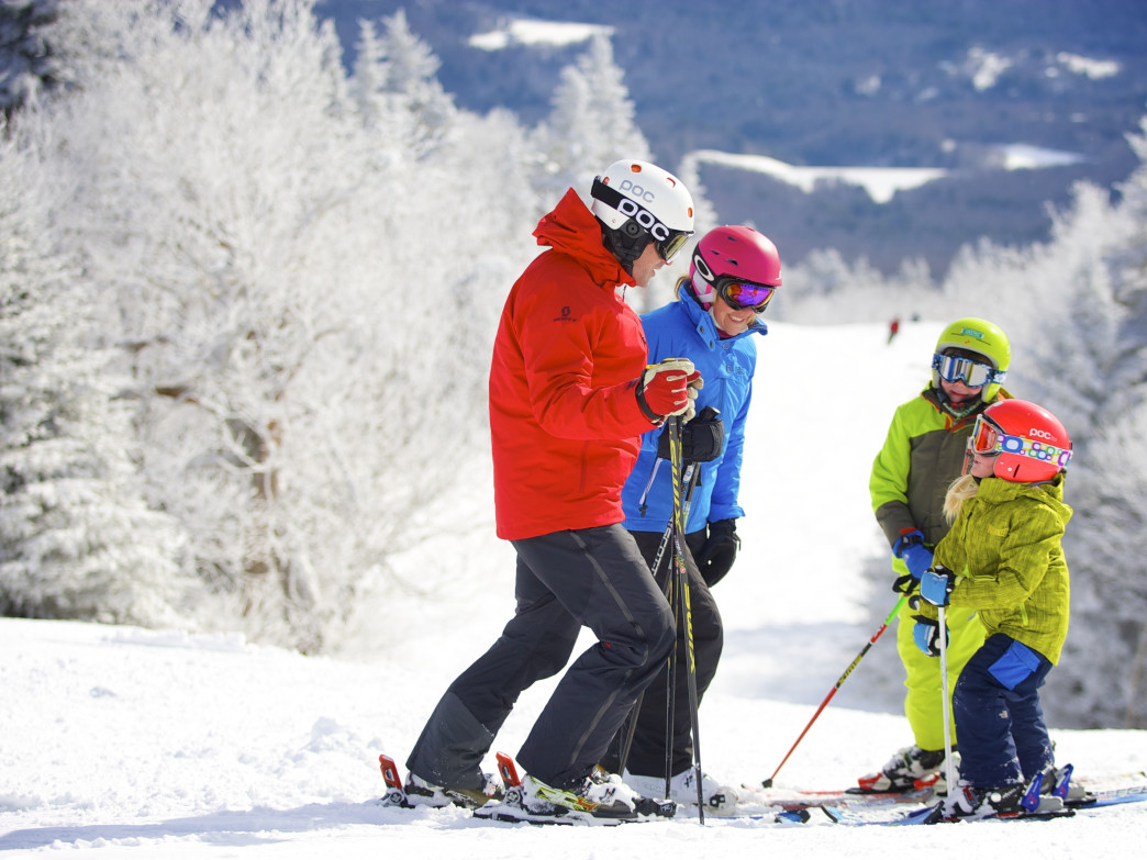 Grab the kids and hit the slopes at Okemo Mountain Resort.
