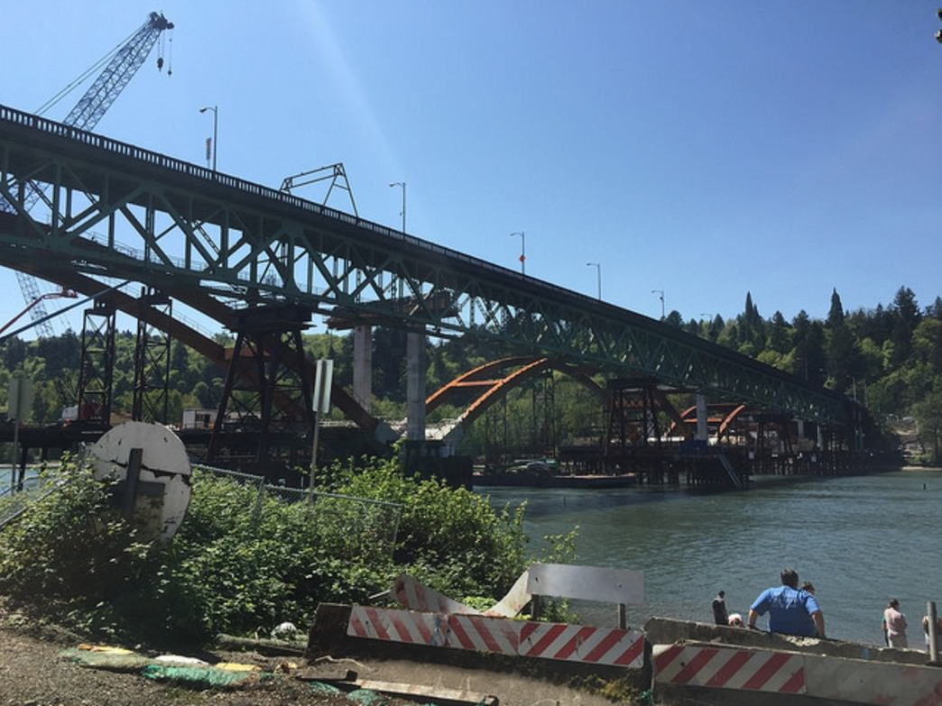 Construction of the new Sellwood Bridge will cause headaches for riders crossing the old Sellwood Bridge during the Providence Bridge Pedal.