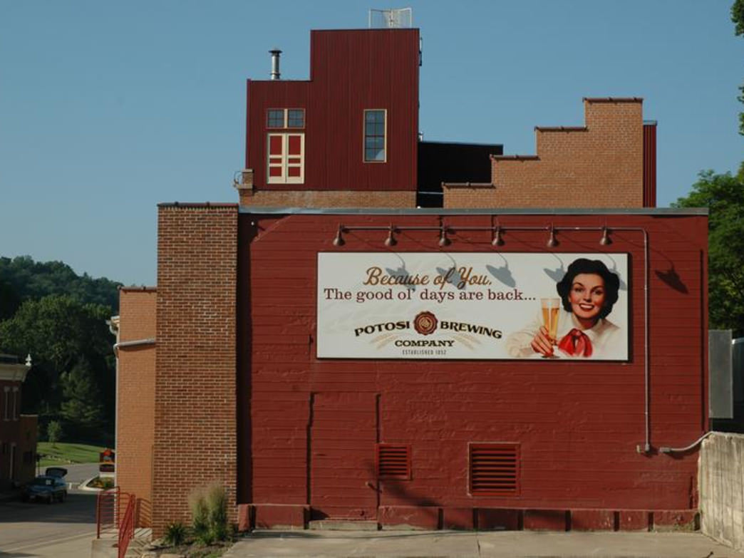 The Potosi Brewing Company was founded in 1852.
