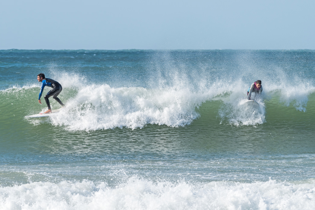 Portugal is home to some big wave surfing.