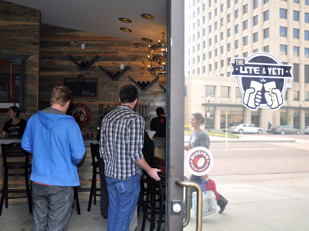 Ute & Yeti is a true public house, offering a family-friendly environment downtown.