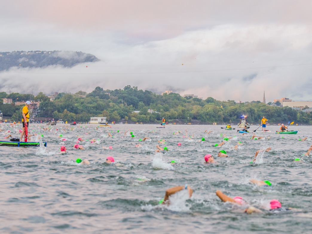 IRONMAN Chattanooga Swim.