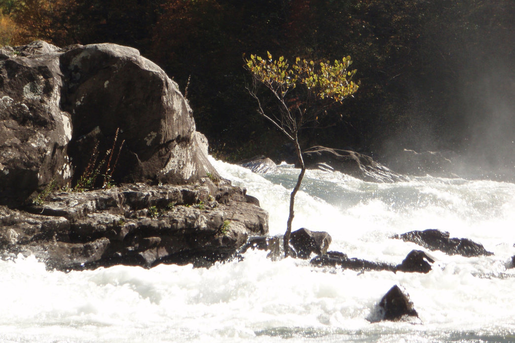 Sweets Falls is especially scenic in the fall.     Wwkayaker22