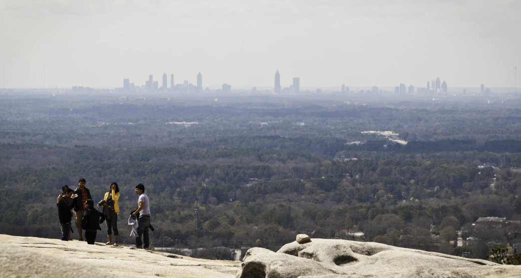 Hiking to the top of Stone Mountain is one of the most iconic outdoor activities in Atlanta and one not to be missed.