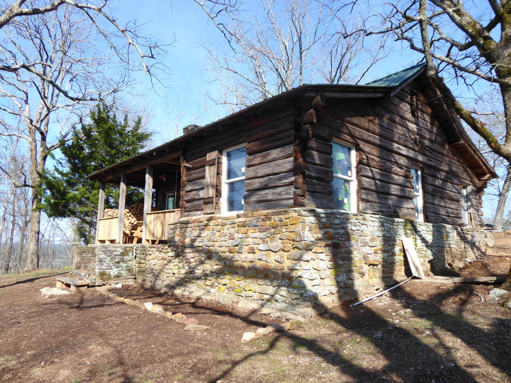 You can now stay overnight in Flagg Mountain's historic CCC cabins.     Marcus Woolf
