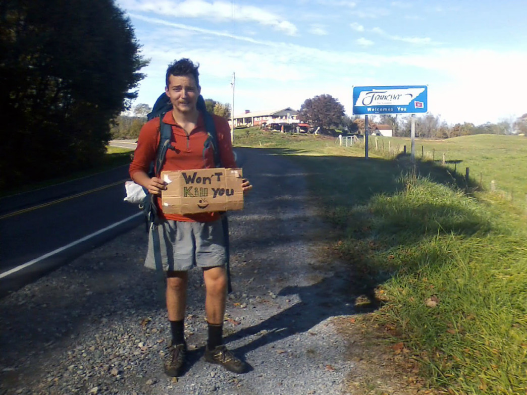 Hitchhiking to Boone, N.C.