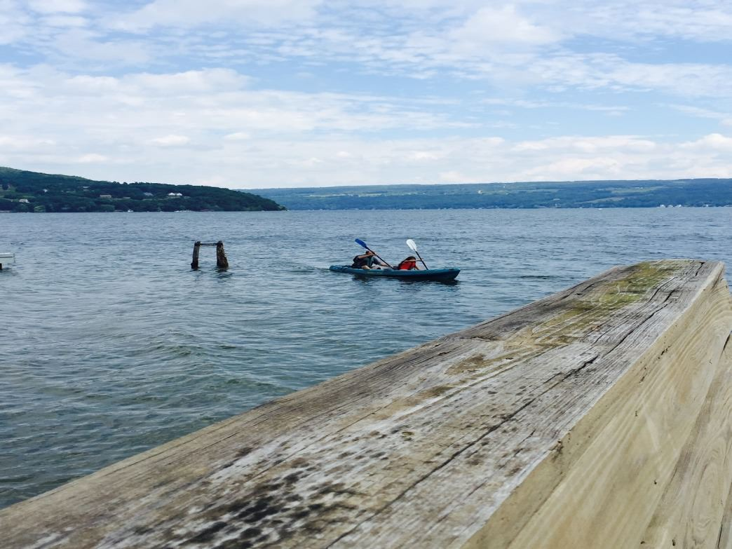 Kayaking in the Finger Lakes, NY