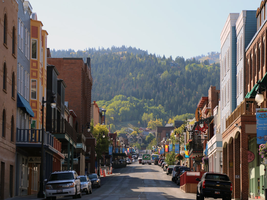Park City's Historic Main Street is filled with great shops, restaurants, and bars to explore.