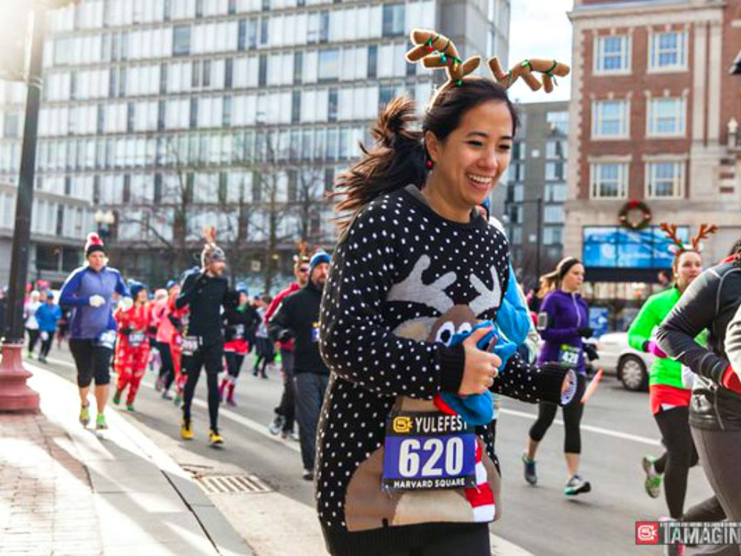 Holiday Fun Runs aren't the only times you can run in costume... but it's the one time you won't get funny looks for it.