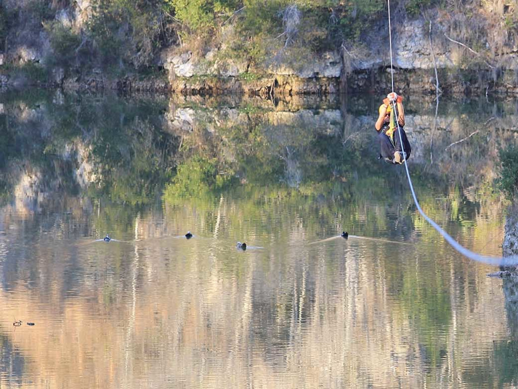 Canyons Zip Line and Canopy Tours in Ocala offers a unique date experience.