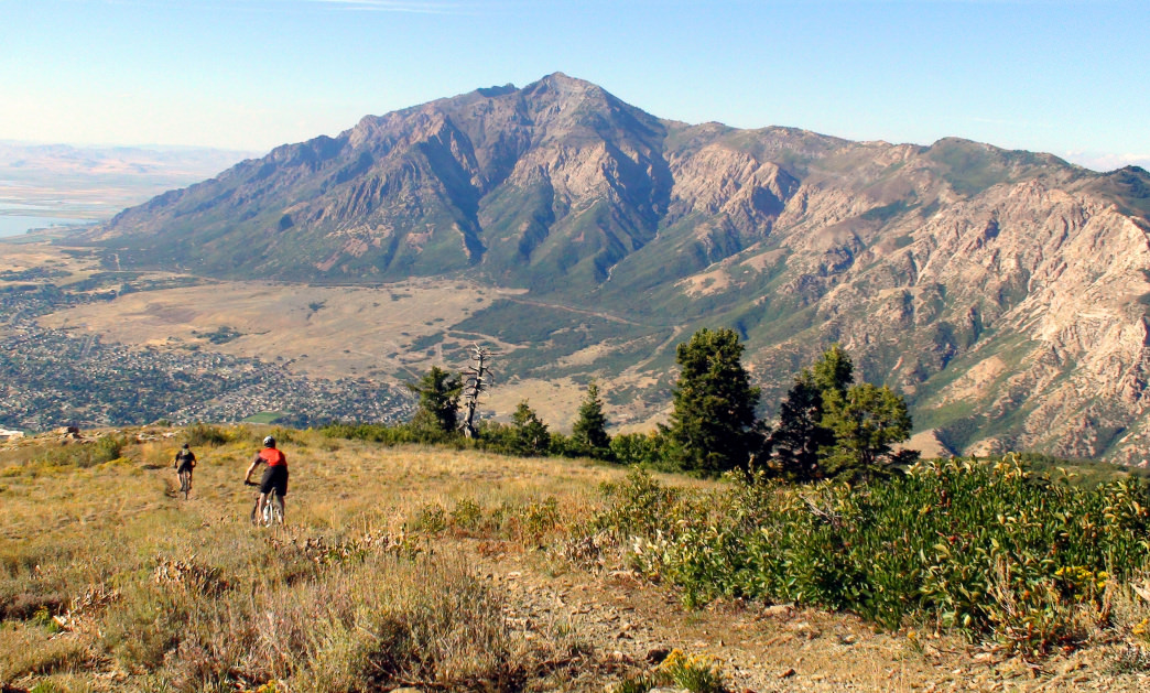 Biking options are endless in Ogden.