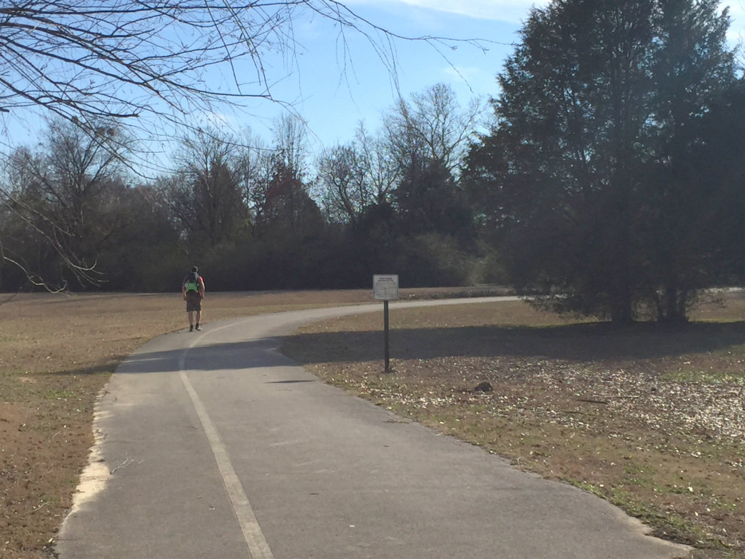 The 2.5-mile Big Cove Greenway offers paved sections and runs through the Hays Nature Preserve.     Marcus Woolf