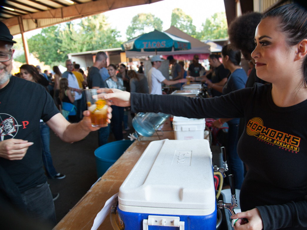 Hopworks Urban Brewery will serve a number of beers at the Handmade Bikes and Beer Festival.