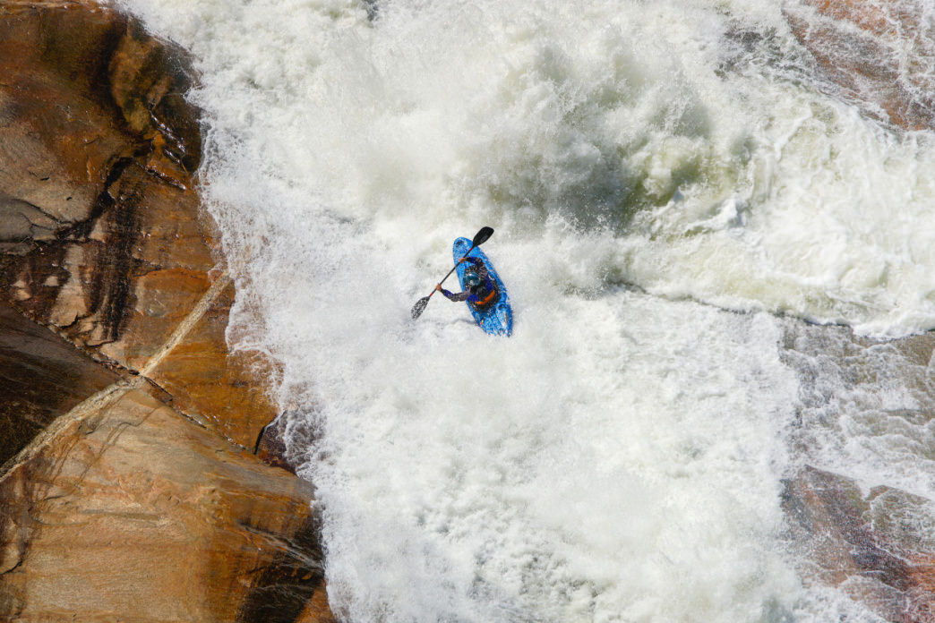 The release of water from the Tallulah River Dam creates one of the most impressive whitewater runs in the country.    Angela Greenwell