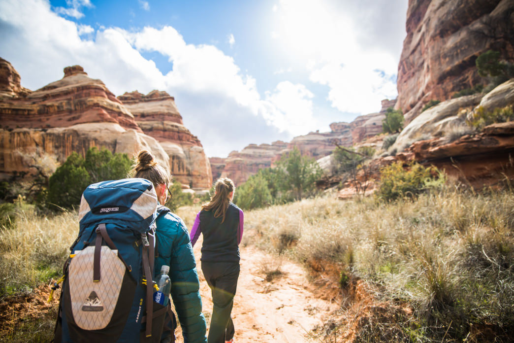 A good fit is a critical element to an enjoyable hike.     Zach Dischner