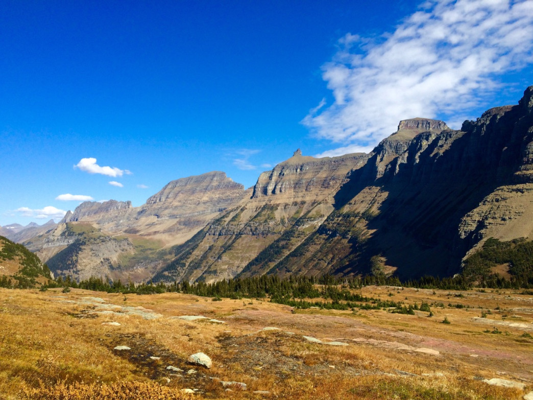 The Hidden Lake Trail at Logan Pass