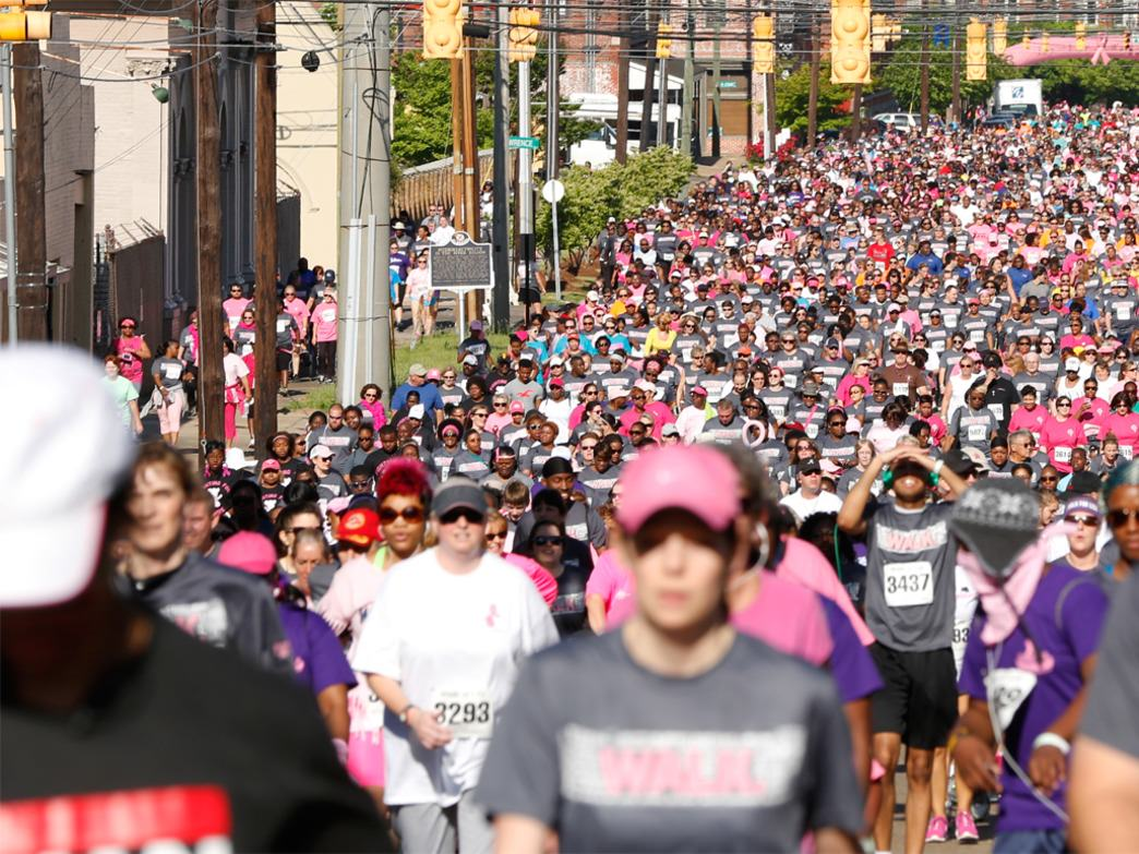 The 2014 Walk of Life drew more than 6,000 participants.