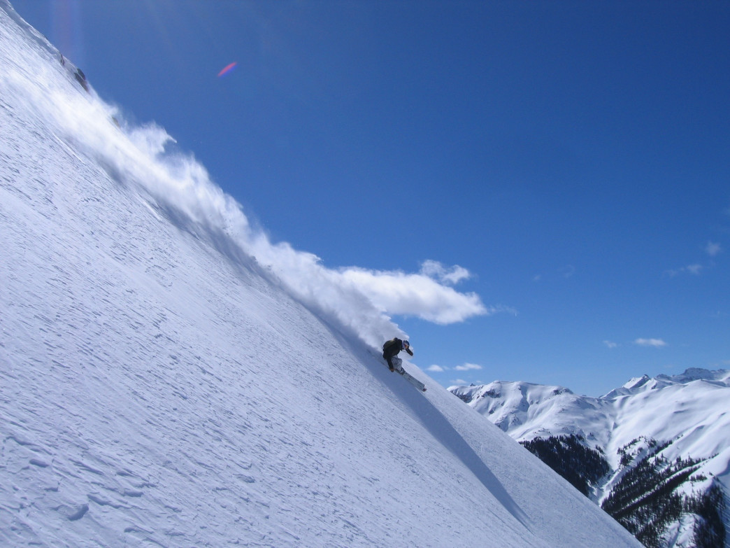 Big mountain terrain is on tap at Silverton.