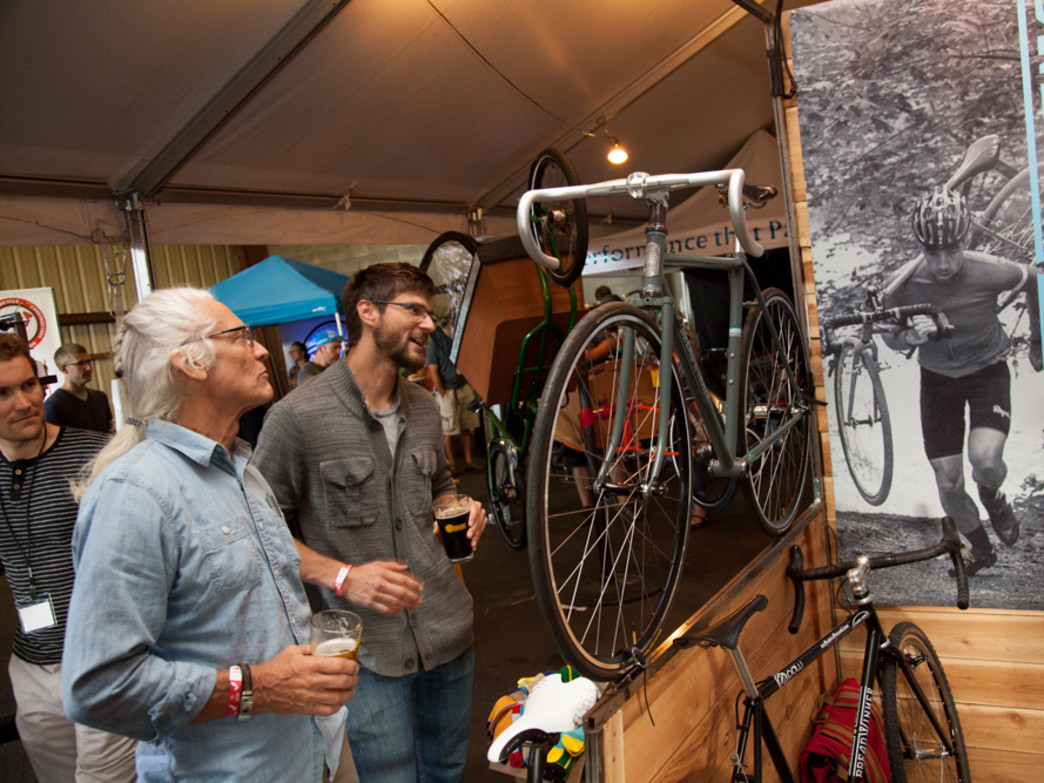 A variety of handmade bikes will be on display at the Handmade Bikes and Beer Festival.