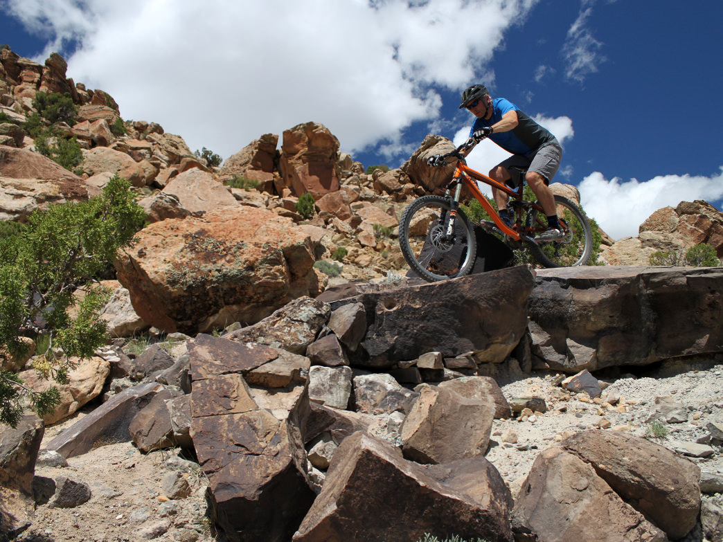 There is no shortage of bike trails for all levels in Grand Junction.
