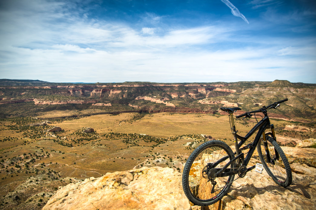 Fruita's singletrack is incredible—and the views aren't bad, either.