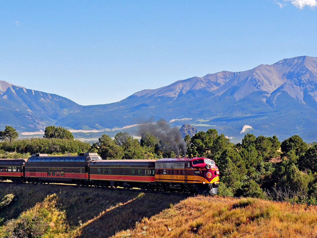Rio Grande Scenic Railroad to Alamosa, Colorado.