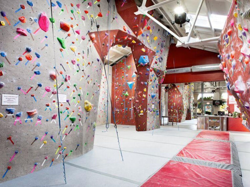 Santa Barbara Rock Gym.