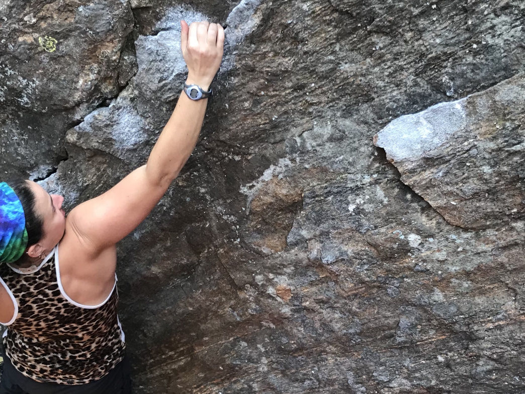 Hands are integral to climbing, so when they're injured, it takes a lot of getting used to.