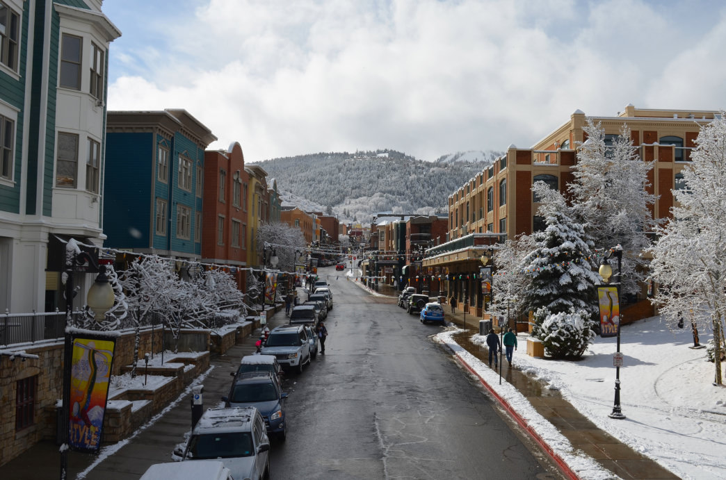 Historic Main Street in Park City is filled with popular shops and restaurants.