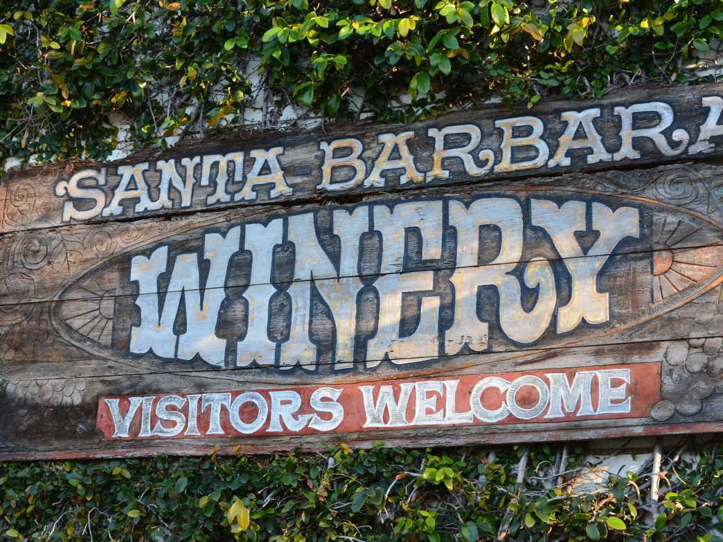 Visitors come from around the world for Santa Barbara's wineries.