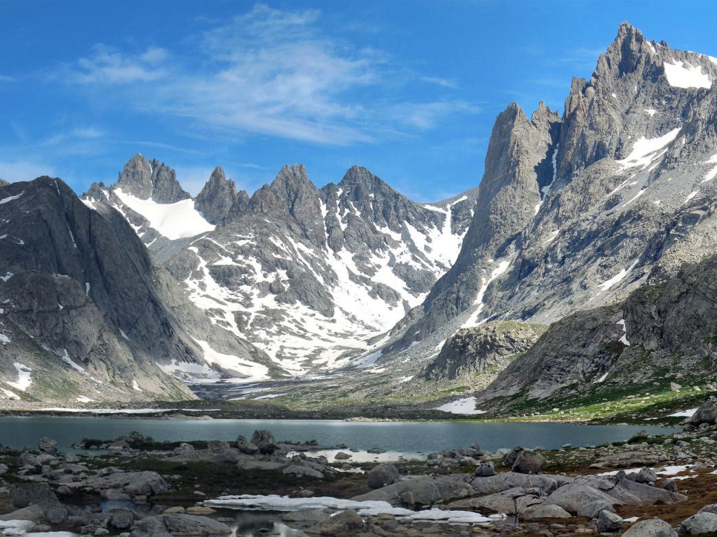 Titcomb Basin is one of the gems of the Wind River Range.