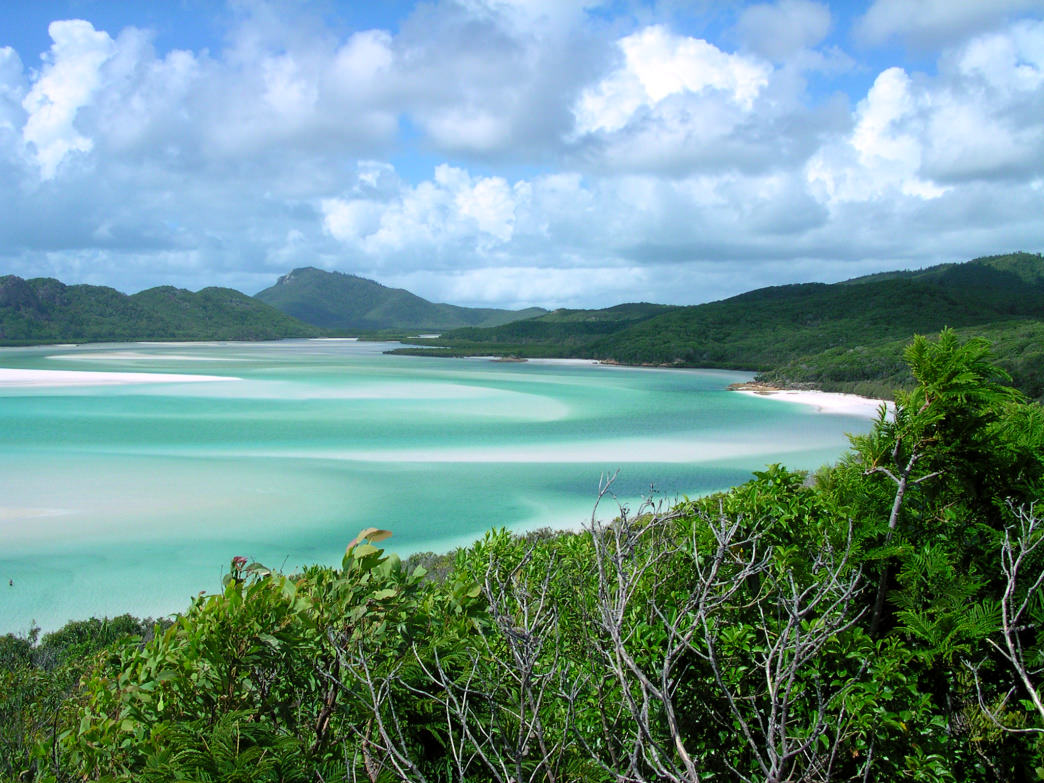 Queensland's stunning shoreline is much more deserted in the spring than summer.