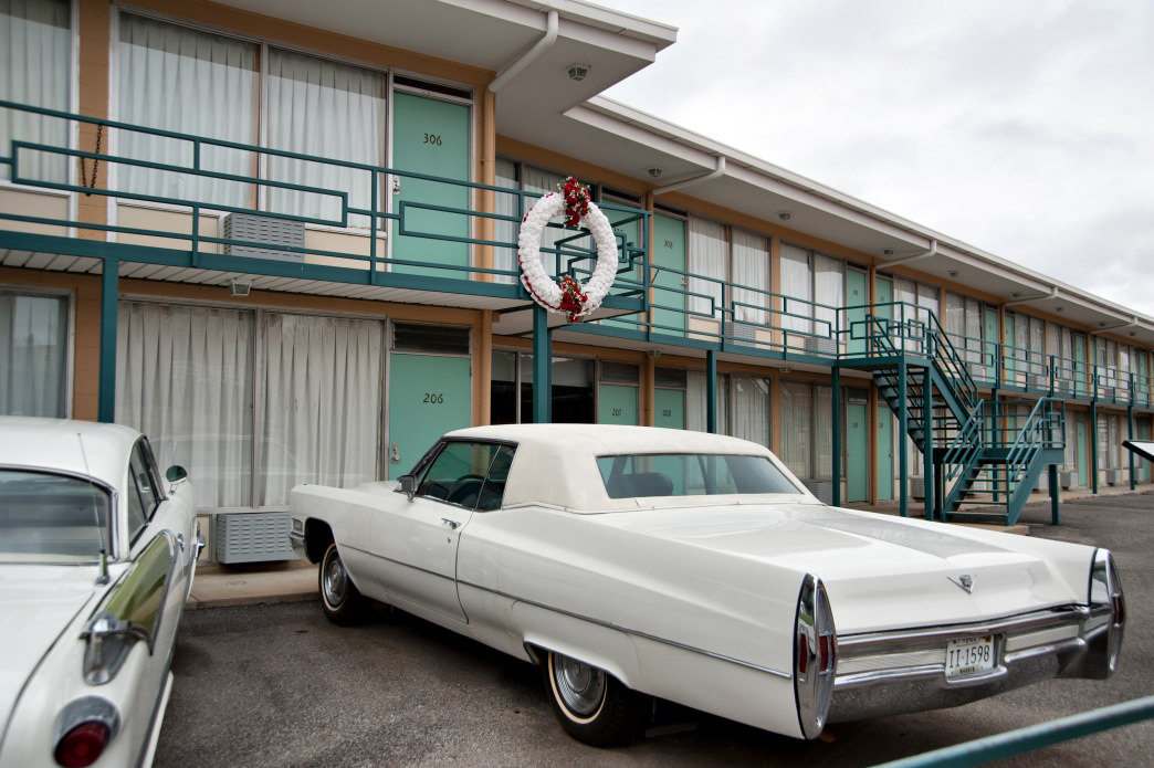 The Lorraine Motel, where Martin Luther King Jr. was assassinated, has since been turned into the National Civil Rights Museum.