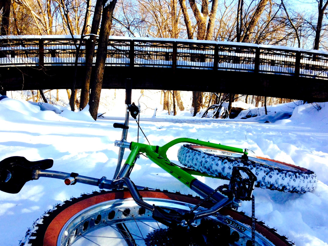 Minnesota is filled the opportunities for fat cycling this winter.