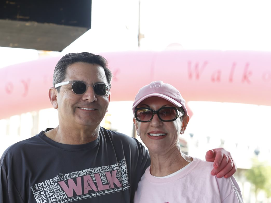Joy to Life Foundation founders Dickie and Joy Blondheim at the Walk of Life 5k.