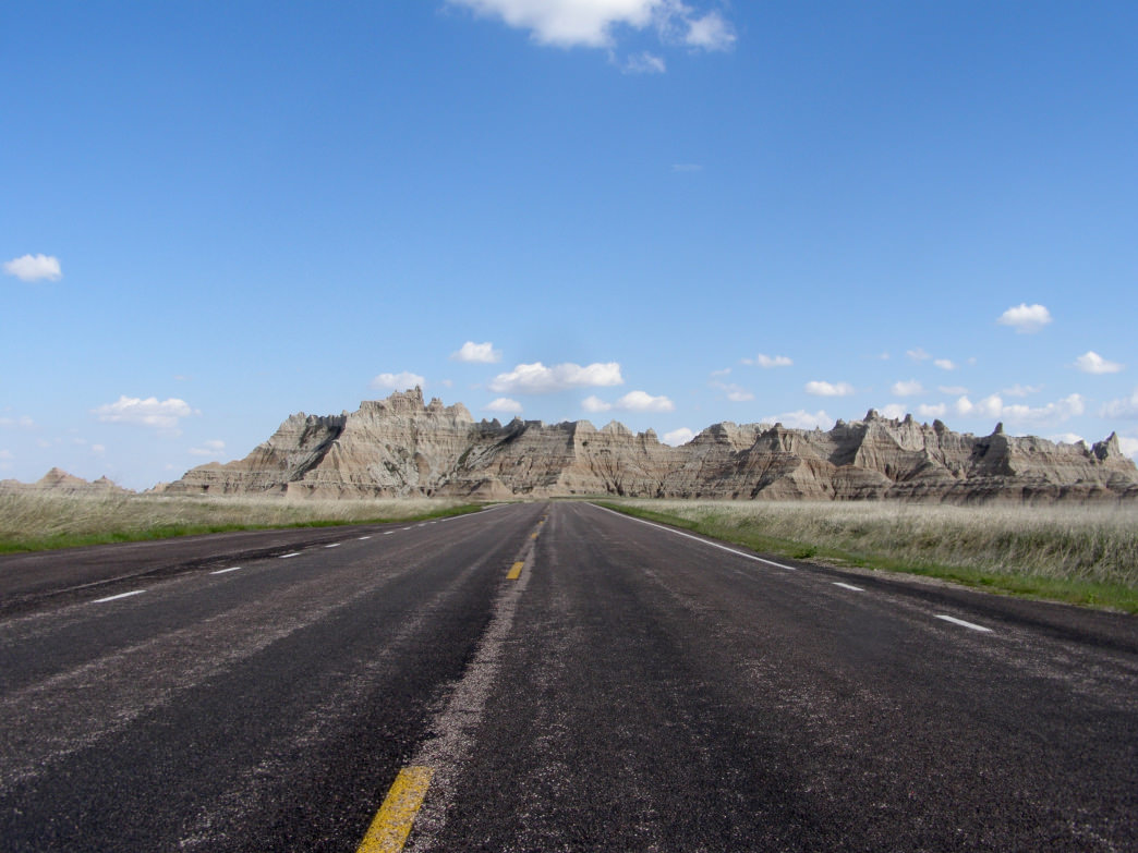 South Dakota's Badlands National Park is most known for its stunning rock formations.