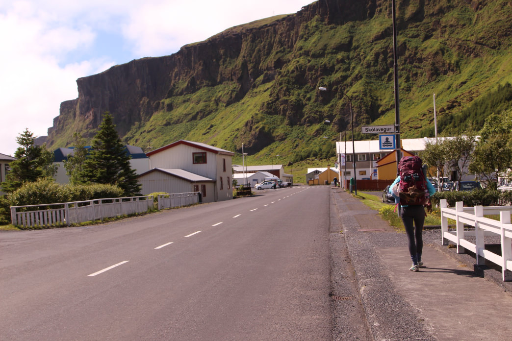 Backpacking through quaint villages in Iceland.     Matt Guenther