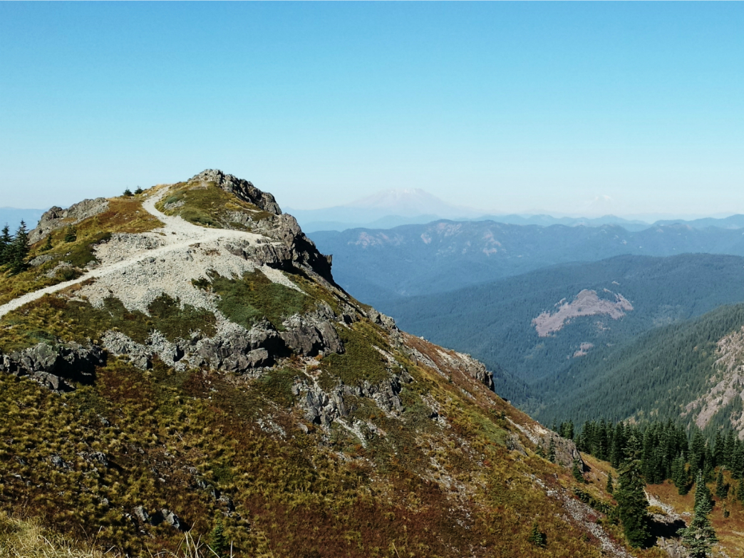 Silver Mountain Water Park >> Ed's Trail to Silver Star Mountain - Hiking