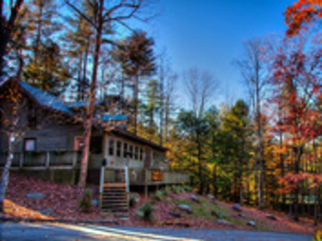 This quaint getaway in the Blue Ridge caters to mountain bikers.
