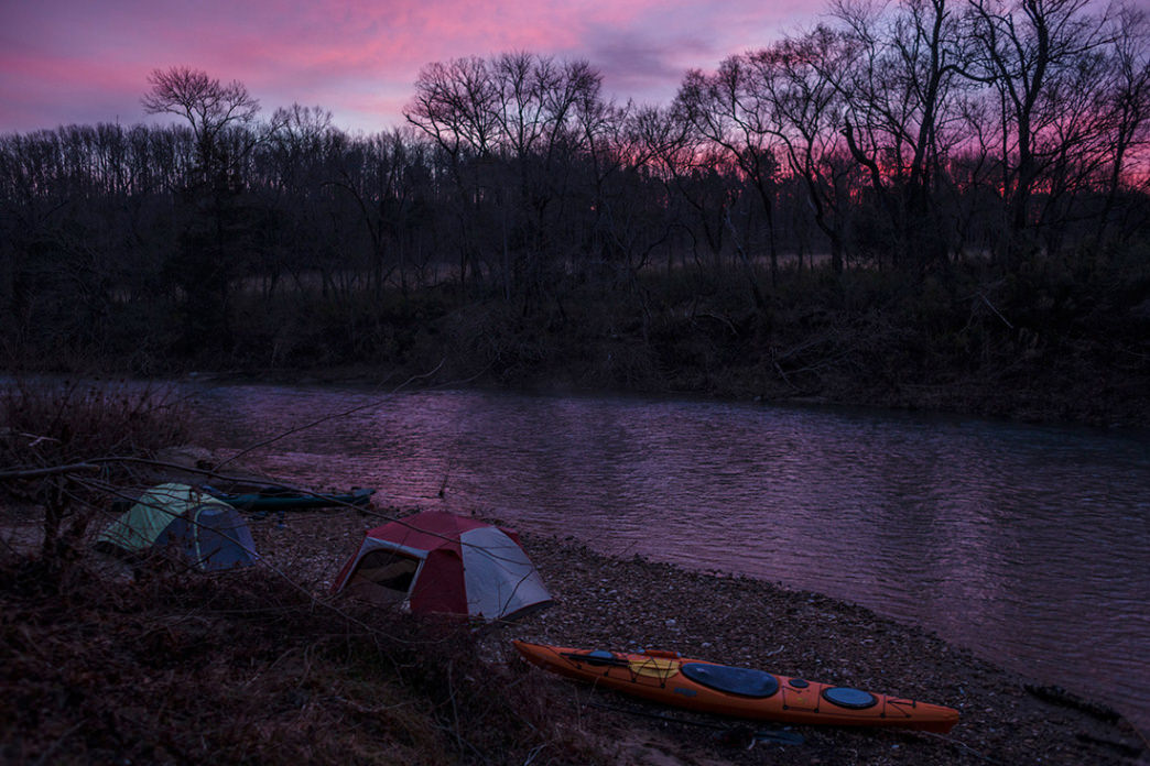 Buffalo National River, Erbie Sunrise