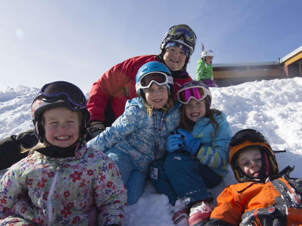 Sunday River can help visitors of any age learn to ski.