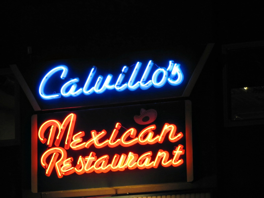 Don't miss the chile rellenos at Calvillo's.