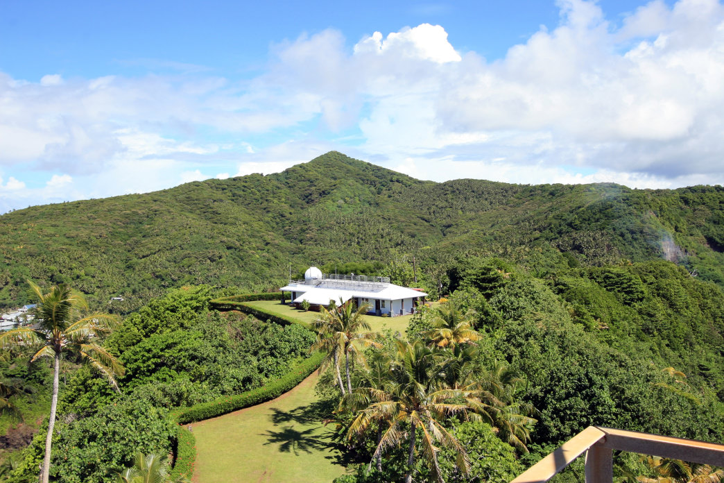 NOAA's American Samoa Observatory for climate and CO2 measurement.