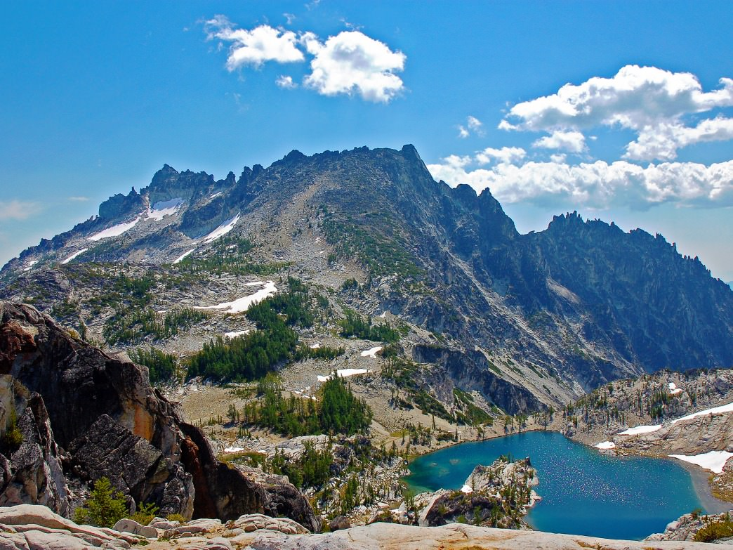 Enchantments Crystal Lake.