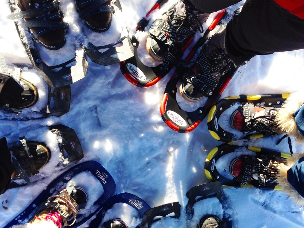 Snowshoeing is one of the easiest ways to explore Theodore Wirth park in the winter.